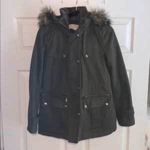 Michael Kors Faux Fur Hooded Parka. Size small.